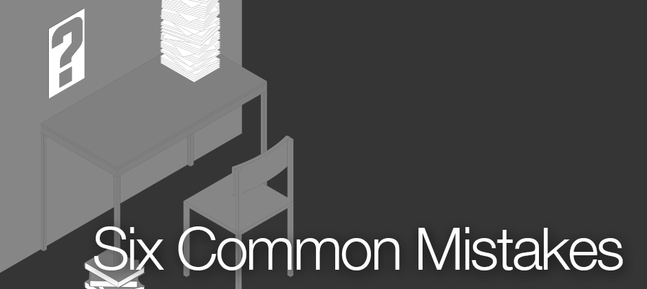 Six Common Mistakes New Industrial Designers Make